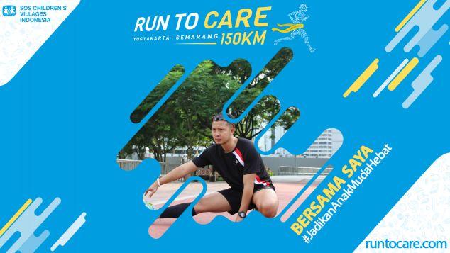 Ramlee Berlari 150 KM Demi 2.200 Anak Negeri
