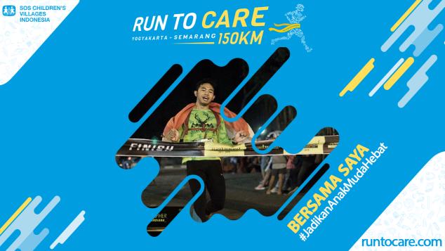 Luthfi A. Berlari 150 KM Demi 2.200 Anak Negeri