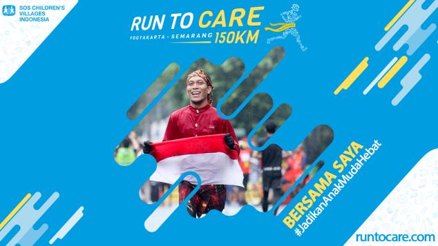 Hamzah Berlari 150 KM Demi 2.200 Anak Negeri