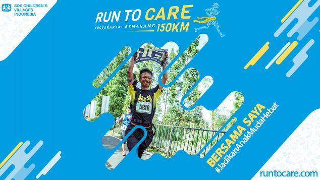Norman Berlari 150 KM Demi 2.200 Anak Negeri