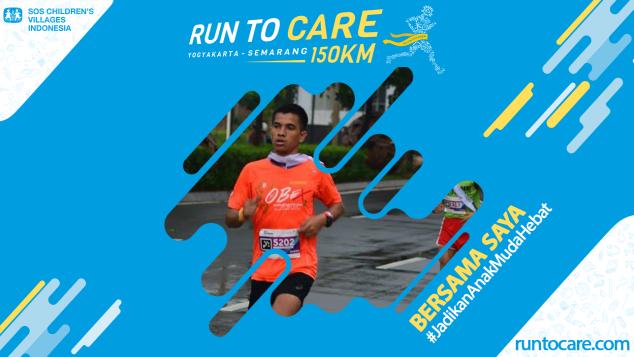 Mahdy Berlari 150 KM Demi 2.200 Anak Negeri