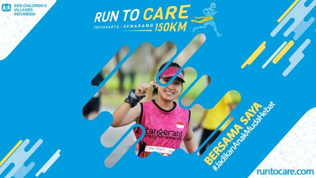Melda Berlari 150 KM Demi 2.200 Anak Negeri