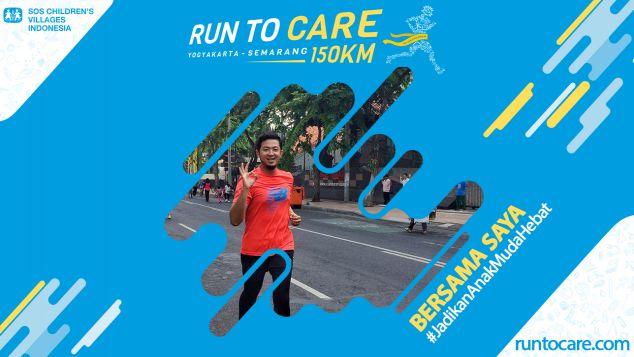 Tri Wandono Berlari 150 KM Demi 2.200 Anak Negeri