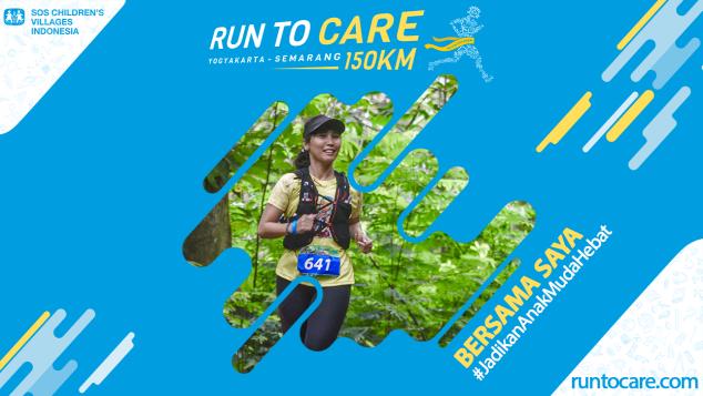Hadriana Berlari 150 KM Demi 2.200 Anak Negeri