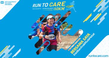 Julita Berlari 150 KM Demi 2.200 Anak Negeri
