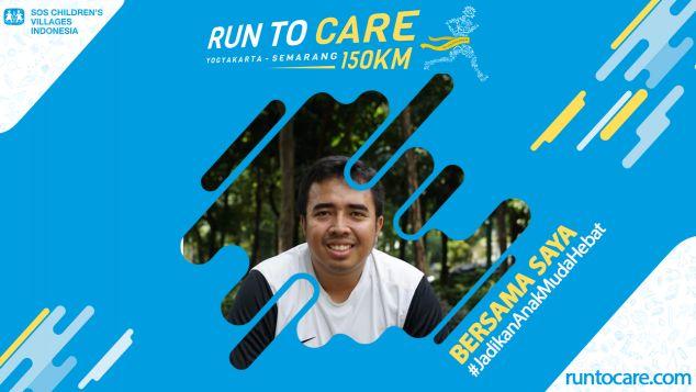 Reza Permadi Berlari 150 KM Demi 2.200 Anak Negeri