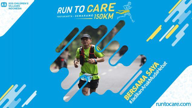 Suranto Berlari 150 KM Demi 2.200 Anak Negeri