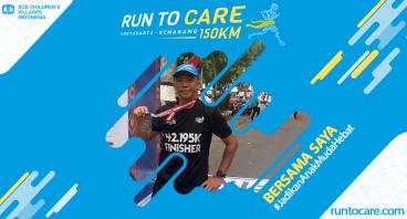 Fernando Berlari 150 KM Demi 2.200 Anak Negeri