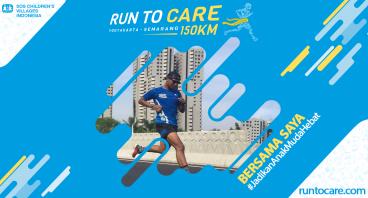 Martin Berlari 150 KM Demi 2.200 Anak Negeri