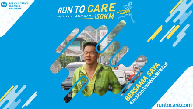 Noor Berlari 150 KM Demi 2.200 Anak Negeri