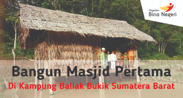 Masjid Pertama Di Kampung Balik Bukik SUMBAR
