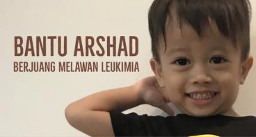 Arshad Melawan Leukimia