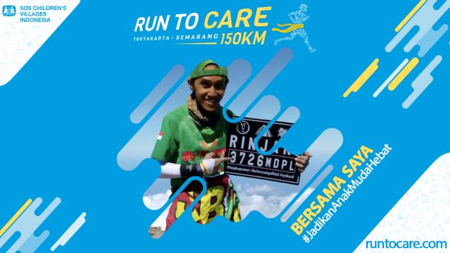 Yoyok Berlari 150 KM Demi 2.200 Anak Negeri