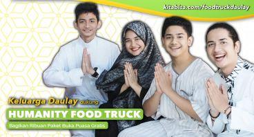 Keluarga Daulay Dukung Humanity Food Truck
