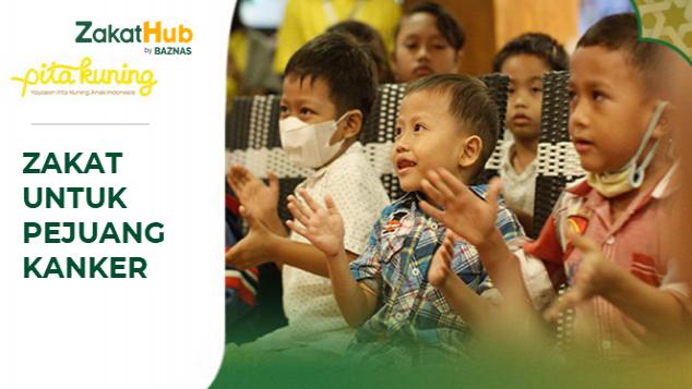 Zakat untuk Anak Asuh Yayasan Pita Kuning