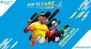 Wiko H.P Berlari 150 KM Demi 2.200 Anak Negeri