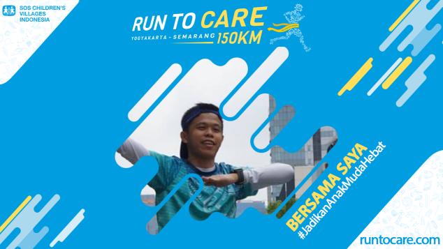 Noviandy Berlari 150 KM Demi 2.200 Anak Negeri