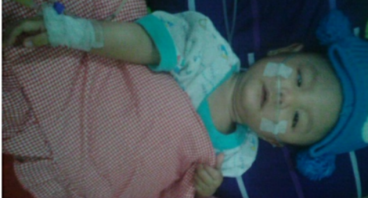 Bantu Kanzia bayi 9 bulan melawan Rubella Syndrome