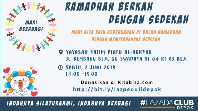 Ramadhan Berkah Dengan Sedekah