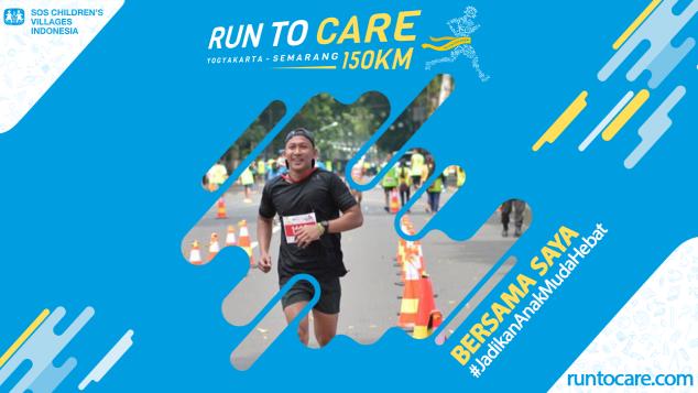 Akbar Siddiq Berlari 150 KM Demi 2.200 Anak Negeri