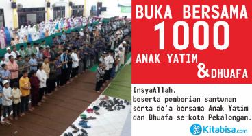 BUKA BERSAMA 1000 ANAK YATIM & DHUAFA