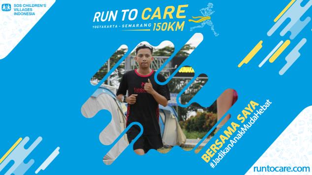 Andi Berlari 150 KM Demi 2.200 Anak Negeri