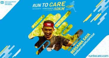 Chofifin Berlari 150 KM Demi 2.200 Anak Negeri