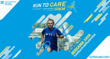 Rakhmadsyah Berlari 150 KM Demi 2.200 Anak Negeri