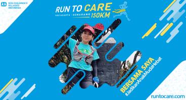 Puri Berlari 150 KM Demi 2.200 Anak Negeri
