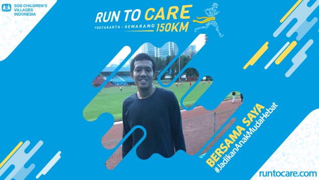 M. Arif Berlari 150 KM Demi 2.200 Anak Negeri
