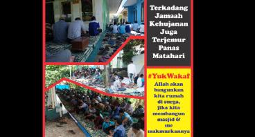 Bebaskan Lahan Untuk Masjid Jami Al Brokah