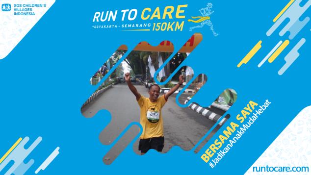 Kamil Berlari 150 KM Demi 2200 Anak Negeri
