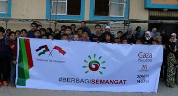 Sedekah Kemanusiaan Palestina #BerbagiSemangat