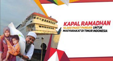 Kapal Ramadhan: Paket Pangan untuk Indonesia Timur
