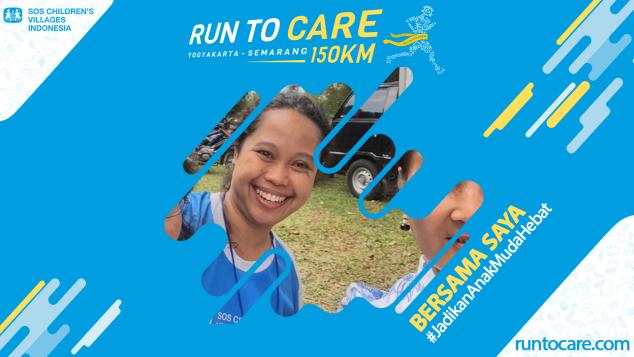 Linda S Berlari 150 KM Demi 2.200 Anak Negeri