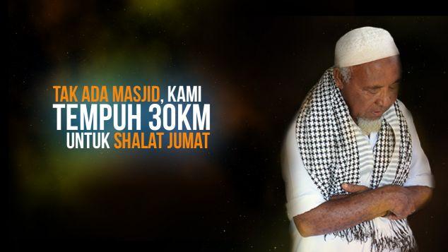 Bantu Pembangun Masjid Di Papua Barat