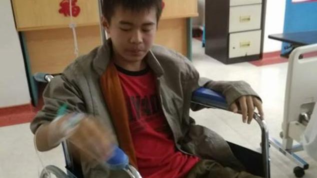 Bantu Kevin untuk sembuh dari tumor otak