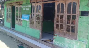 Bantu renovasi mushola