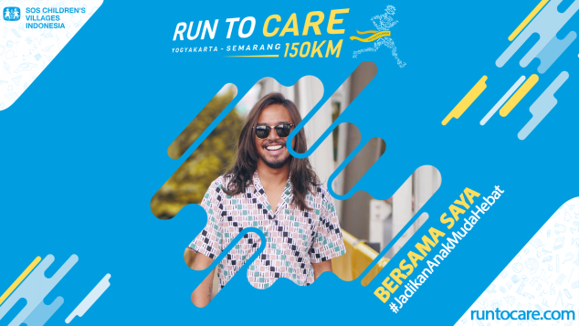 Febrian Dukung Lari 150 KM Demi Anak Negeri