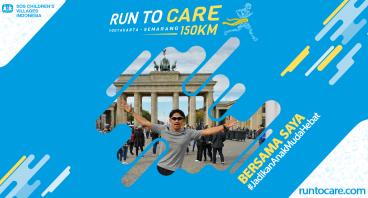Ibnu Jamil Dukung Lari 150 KM Demi Anak Negeri