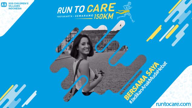 Julie Estelle Dukung Lari 150 KM Demi Anak Negeri