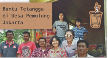 Bantu Tetangga di Desa Pemulung Jakarta