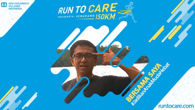 Adjat Berlari 150 KM Demi 2.200 Anak Negeri