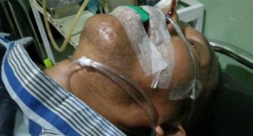 Bantu perjuangan pak Tabrani di ICU