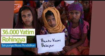 Bangun Rumah Pendidikan Bagi Anak Yatim Rohingya