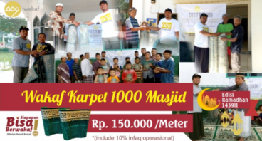 Wakaf Karpet 1000 Masjid