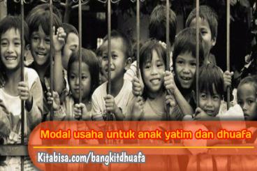 Modal Usaha untuk Anak yatim dan Dhuafa