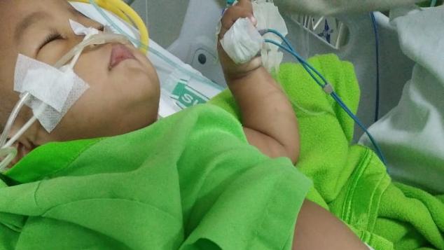 Bantu Baby Adzkia melawan Leukimia