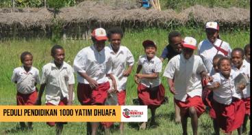 Peduli Pendidikan 1000 Yatim dan Dhuafa