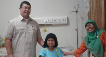 Bantu Amelia Melawan Kanker Darah